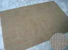 Popular woven paper Placemat for restaurant pvc woven placemat