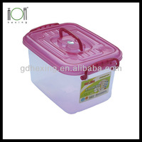 Plastic Storage Box with handle and wheel 5L