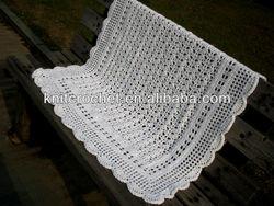 2013 Fashion Hand made Knit Crochet Baby Blanket, Crochet Baby Afghans (KCC-HCB0024)