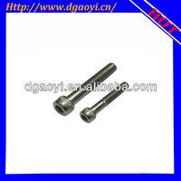 Aluminum hex socket cap head machine screws