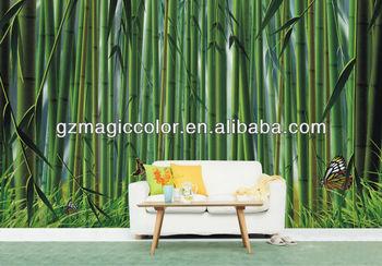 Bamboos wall murals wallpapers