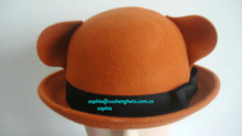 Funny Animal Hat/Children Felt Hat/100%wool felt hat