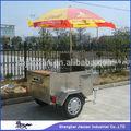 Comercial jx-hs120d porción de la carretilla y carro de