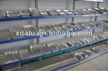 disposable aluminium foil container for food