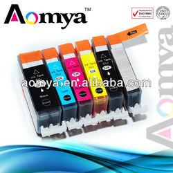 No bleeding Compatible Ink Cartridge for Canon PGI525/CLI526 BK/C/M/Y/G
