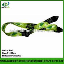 Fahionable Neon Green Guitar Shoulder Straps