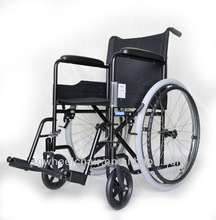 Hot selling folding competitive price steel manual wheelchair provider with CE/FDA