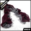 B002-eเย็บรูปแบบผ้าพันคอพิมพ์ฤดูร้อนผ้าคลุมไหล่ห่อ