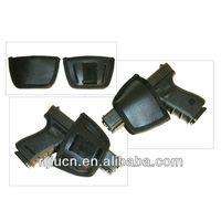 Ultra Universal Yaqui Style Leather Belt Gun Holster