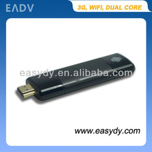 Cheapest Mini USB Stick TV Box VIA 8850 1.5GHz Cortex-A9 Android 4.0 TV Dongle