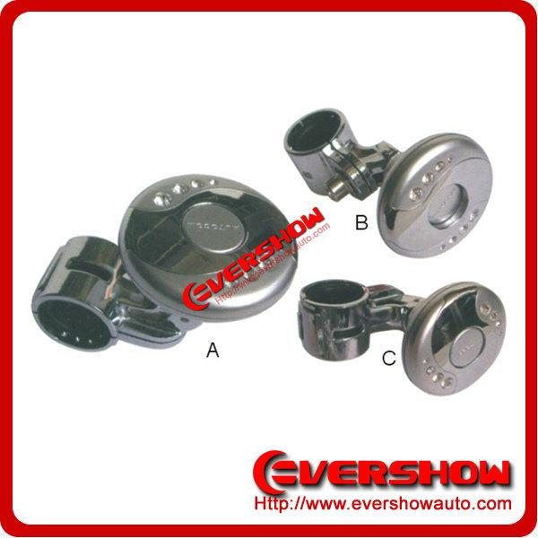 Universal steering wheel knob with diamond steering wheel knob ES6534