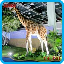 animal park mechanical animatronic giraffe