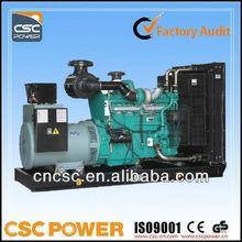 CSCPower with cummins engine 200 kw Diesel Generator