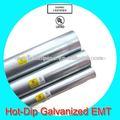 por inmersión en caliente de tubo galvanizado conducto emt con la aprobación ul