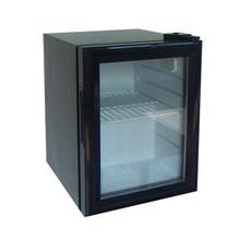 20L mini refrigerator, glass door fridge