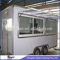 Espacioso 2014 nuevo diseño!! Shanghai carrito de comida jx-fs400b, de aire- conditionhog& perro crema de hielo de la máquina