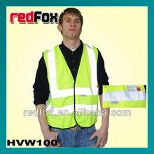 yellow fire retardent reflective vest ce EN471&EN470 standard