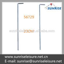 56729# 20cm steel standard tent peg