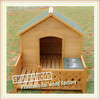 SDD10 wooden dog house with Balcony wholesale