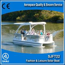 SANJ SJFT22 Solar Sightseeing Boat with Uznique technology
