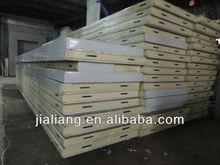 waterproof polyurethane insulated panel refrigerated warehouse blast freezer cold storage room