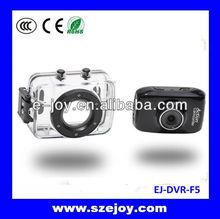 Best seller!!Newest H.264 drift camera,Battery sports DV,video camera waterproof 720p&EJ-DVR F5