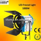 1000W Tungsten Fresnel spotlight for film production