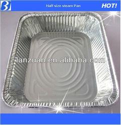 Half size steam pan, aluminum container
