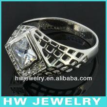 31458 platinum men ring