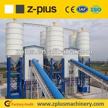 China NO 1 Concrete mixing plant big scale set HZS150 for sale