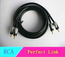 rca to rca 2R-2R av cable double mould 5m 3m copper core