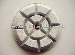 3inches resin diamond polishing pads for terrazzo/concrete floor