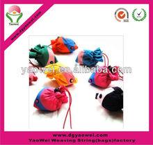 2012 fashionable lightness foldable promotional shopping bag