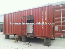 containerized flake ice machine for fishing