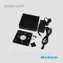 Blue ray mini computer,thin client 1080p, htpc desktop computer,portable linux pc,lowest price computer,Qotom-Q100