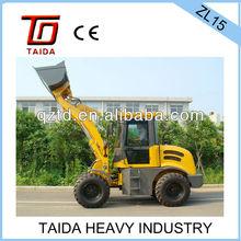 mini engineering machinery,1.5tons construction heavy equipment
