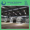 Hot selling! Scrap tire pyrolysis plant/ scrap plastic pyrolysis machine/ waste tires pyrolysis machinery