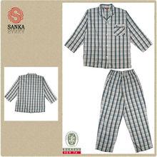Algodón pijama de raso