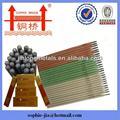 aço carbono eletrodo de soldagem de titânio eletrodos fornecedor haste