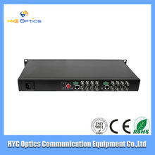 16 Channel Video and 1 Reverse Data Optical Transmitter and Receiver/data transmitter and receiver