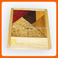 Wooden tangram