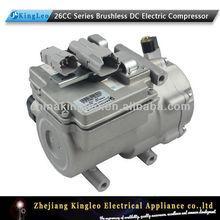 72v 26cc integrado tipo sin escobillas dc compresor eléctrico de corriente continua para sistema de aire acondicionado
