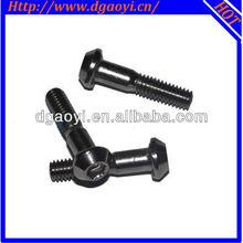 Zinc plated binding head half thread machine screw