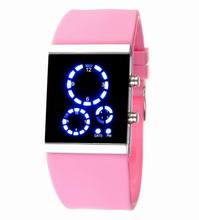 Babi silicone led watch Pink lovely