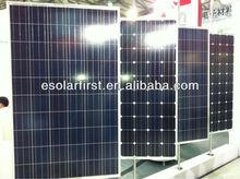 high efficiency solar cells 25 warranty years 140 W Poly Solar Panel
