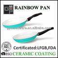 Alumínio forjado frigideira ( arco-íris Pan )