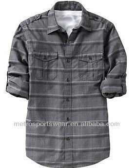 Men's Slim-Fit Shirts 2013 long sleeve western
