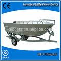 Sanj barcos de alumínio barco de pesca para venda 2014 novo design