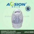 asesino del mosquito electrónicos con la lámpara de emergencia