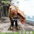 dinosaurio de adultos traje de tamaño de la vida traje de dinosaurio